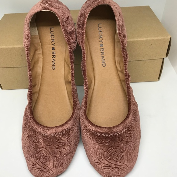 Lucky Brand Womens Lucky Emmie Ballet Flat Shoes